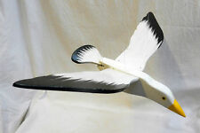 Hand Made Hand Painted Wooden Bird Mobile - Seagull - BNWT