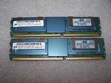 8GB HP PC2-5300F DDR2  667MHz Fully Buffered Server FBDIMM (2x 4GB) 398708-061