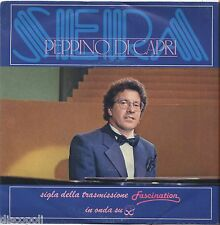 "PEPPINO DI CAPRI - Sera - VINYL 7"" 45 LP 1983  NM COVER VG+ CONDITION"