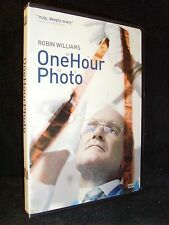 One Hour Photo (DVD, 2003) Mint Disc/Insert•No Scratches•Robin Williams