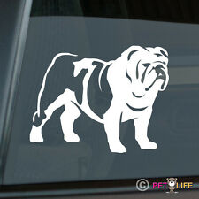 British Bulldog Sticker Die Cut Vinyl - english