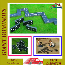 NEW GIANT DOMINOES SUMMER GARDEN OUTDOOR FAMILY KIDS GAME TOY PARTY FUN DOMINOS
