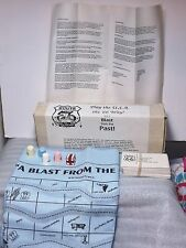 Vintage 66 Fashions Blast from the Past Route 66 Bandana  Board Game Mint MIB