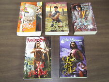 5 Book Lot Historical Romance Connie Mason Ann Lawrence Lord of the Hunt Mist PB