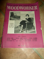 Woodworker April 1959 ~ Retro Vintage Illustrated Magazine + Advertising