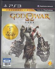 God of War Saga Collection PS3 GAME Chinese/English *BRAND NEW!* + Warranty!
