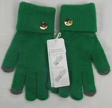 Mud pie  Adult lady ladies Convertable Button Gloves Green 860A017 R$14.99
