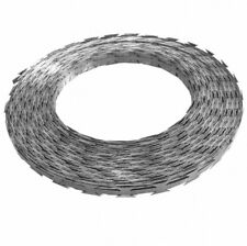 NATO Razor Wire 100 m Steel with Plastic Container Concertina Barbed Wire Roll