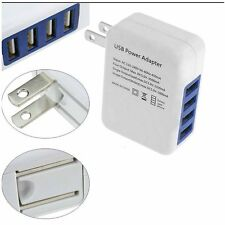 MAX 3.1A 4 Port USB Portable Home Travel Wall Charger US Plug AC Power Adapter W