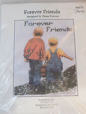 Forever Friens Diane Forrest Counted Cross Stitch Kit Children Holding Hands