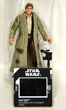 "Loose Han Solo in Endor Gear 3 3/4"" Star Wars Figure POTF Power of the Force"