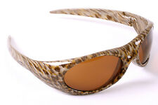 Vuarnet Extreme Maverick's Animal Print Sunglasses with Brown Lenses- Vintage