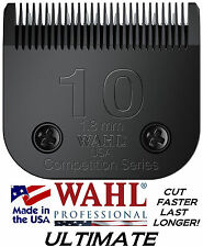 WAHL ULTIMATE COMPETITION Pet Grooming #10 BLADE*Fit Most Oster,Andis Clippers