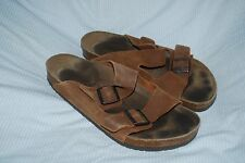 BIRKENSTOCK 290 ARIZONA SANDALS Mens Size 45 US 12 Taupe SUEDE  Nice!
