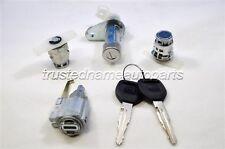 Door, Ignition, Trunk Cylinder Lock Set Kit 94 95 96 97 Honda Accord 4-Door