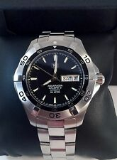 TAG Heuer Calibre 5 Aquaracer Automatic Mens Watch WAF2010 in Excellent Cond.