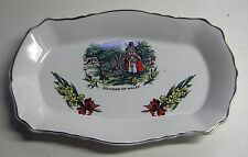 VINTAGE SOUVENIR OF WALES, OLD FOLEY, JAMES KENT, SMALL DISH/TRAY, H1