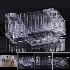 Acrylic beauty Clear case makeup Display Box cosmetic organizer  Korea AA-825