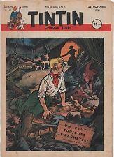 TINTIN n°161 du 22 novembre 1951