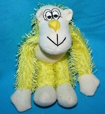 "Oriental Trading Yellow GORILLA MONKEY 7"" String Plush  Soft Toy Stuffed Animal"