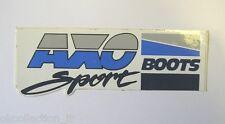ADESIVO MOTO originale / Old Sticker / Autocollant / AXO SPORT BOOTS(cm 14 x 5)