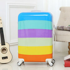 New Student Travel Carry-On Suitcase Boy Girl Hardcase Spinner Trolley Luggage