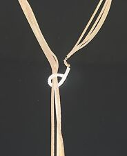 """NEW UG trendy Beautiful&Sexy front open snake necklace rhinestone GP 29""""L"""