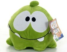 "OFFICIAL BRAND NEW 8"" CUT THE ROPE HAPPY FACE PLUSH OM NOM SOFT TOY"