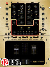 Rane TTM57 Skin - brushed gold/black