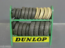 "VINTAGE DINKY MODEL  No.786 SERVICE STATION   ""DUNLOP""  TYRE RACK"
