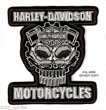 HARLEY DAVIDSON MOTOR PARTS SKULL VEST JACKET PATCH COGNITION **DISCONTINUED**