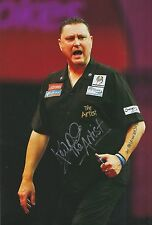 Kevin 'The Artist' Painter Hand Signed 12x8 Photo Darts.