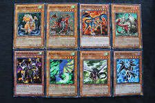 Dragon deck set (Armed Dragon LV3 LV5, Darkblaze, Masked, Spirit Ryu, Gray Wing)