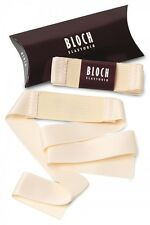 Bloch A0525 European Pink Elastorib Pointe Ballet Shoe Ribbon