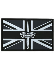 KOMBAT ROYAL MARINES COMMANDO PATCH PVC WITH HOOK AND LOOP BACKING