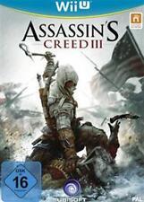 Nintendo wii u des assassins's Creed 3 III excellent état