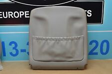 03-06 W211 MB E320 E500 FRONT RIGHT PASSENGER SEAT BACK COVER PANEL GREY