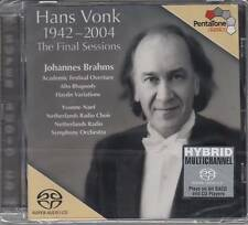 Hans Vonk - The Final Sessions (Super Audio CD) Johannes Brahms NEU/Sealed !!!