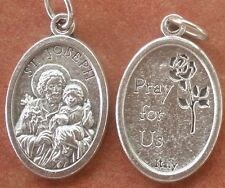 Lightweight St. Joseph with baby Jesus Medal + Fathers, Head of Family