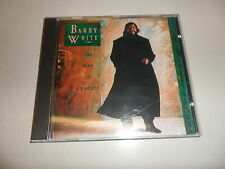 Cd   Barry White  ‎– Barry White: The Man Is Back!