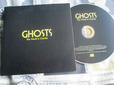 Ghosts  ‎– The World Is Outside  Atlantic ‎– PR016320 Promo UK CD Single