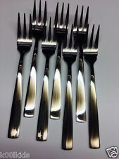 6+1 x ONEIDA / SAINT ANDREA HIGH QUALITY S/STEEL STYLISH FORKS FLATWARE, E002