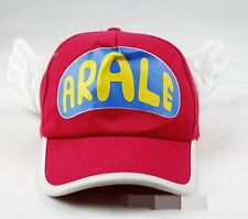 Children Boys Girls Arale Angel Wings Costume Party Cap Adjustable Hat