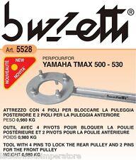 ATTREZZO BLOCCA PULEGGIA POSTERIORE E ANTERIORE T-MAX BUZZETTI 5528 CHIAVE MOTO
