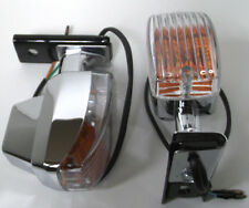 Marker/Idcicator Lights-Motorcycles -12V-Bikes-Trikes-Lighting(Pair)with Bracket