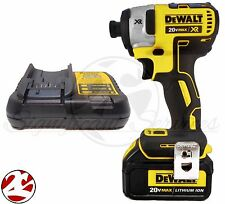 "New Dewalt DCF887 20V Max Lithium Ion 3 Speed XR Brushless 1/4"" Impact Driv"