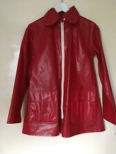 Rukka Red Rain Coat Jacket Womens Size XS (fits S & M)