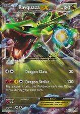 ~Pokemon Ultra Rare Holo Foil Rayquaza EX Card 180 HP XY73 PROMO BLACK STAR~!