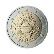"Ireland 2 Euro commemorative coin 2012 ""10 - years of Euro"" - UNC"