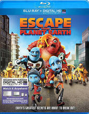 Escape From Planet Earth (Blu-ray/Digital UV, 2013) New/Sealed, Free Shipping !!